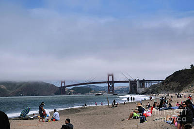 Photograph - Baker Beach by Nancy Chambers