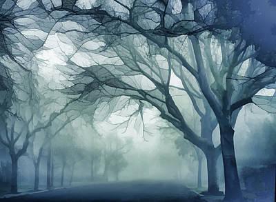 Haze Mixed Media - Baker Street 2 by Terry Davis