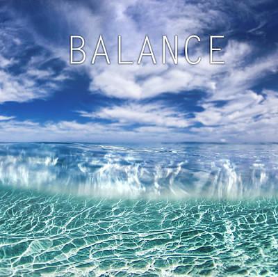 Lucid Photograph - Balance by Sean Davey