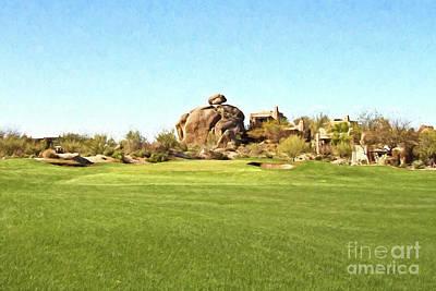 Arizona Golfer Photograph - Balanced by Scott Pellegrin