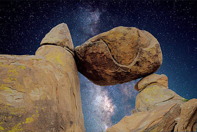 Photograph - Balanced Starry Night by Rospotte Photography