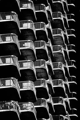 Photograph - Balconies by Marzena Grabczynska Lorenc