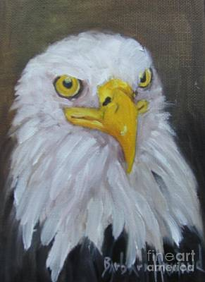 Painting - Bald Eagle by Barbara Haviland