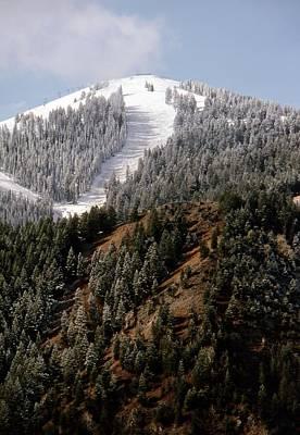 Photograph - Bald Mountain by John Schneider