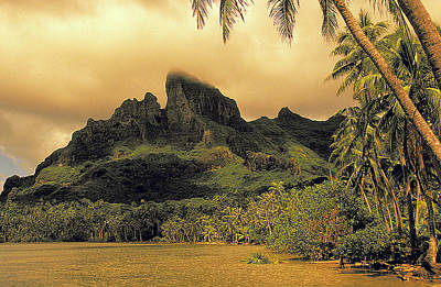 Photograph - Bali Hai In South Pacific by Carl Purcell