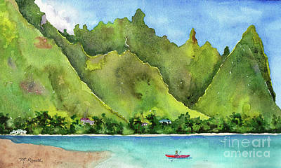 Bali Hai Original by Melanie Pruitt