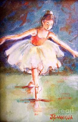 Ballerina 1 Art Print by Joyce A Guariglia