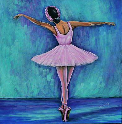 Bailarina Painting - Ballerina by Adriana Fox