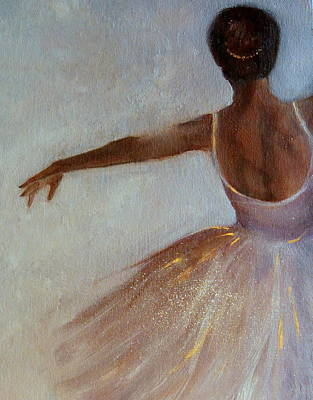 Painting - Ballerina  by Michele Carter