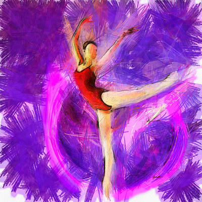 Caruso Digital Art - Ballet by Anthony Caruso