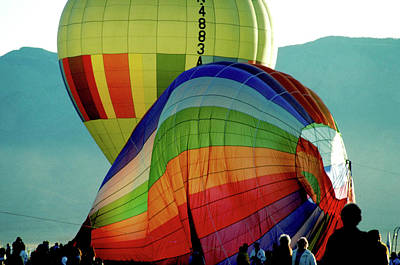 Door Locks And Handles - Balloon Inflation in Albuquerque by Carl Purcell