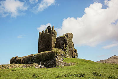 Photograph - Ballycarbery Castle Ruins by Scott Pellegrin