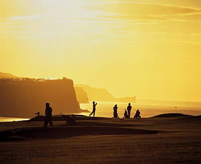 Ballycastle Golf Club, Co Antrim Art Print by The Irish Image Collection
