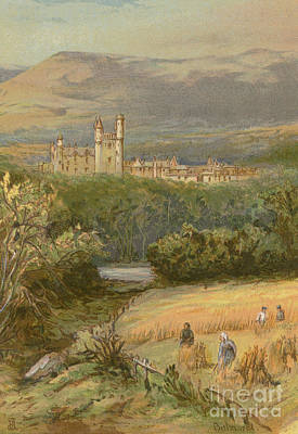 Scottish Highlands Painting - Balmoral Castle by English School
