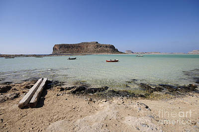 Greek Photograph - Balos Beach by Nichola Denny