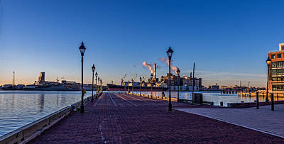 Waterview Photograph - Baltimore Morning by Jim Archer