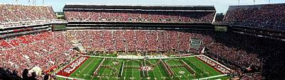 Universities Photograph - Bama Spell-out Panorama by Kenny Glover