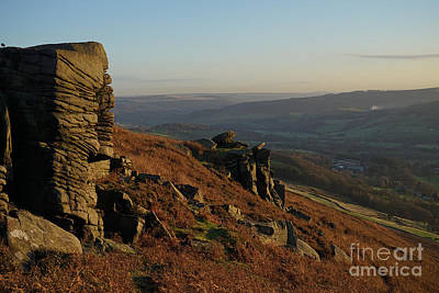 Peak District Photograph - Bamford Edge by Nichola Denny