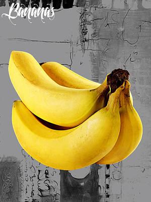 Banana Mixed Media - Banana Collection by Marvin Blaine