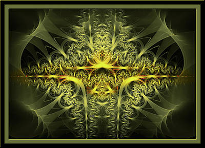 Contemporary Jewellery Digital Art - Band Of Gold by Andy Young