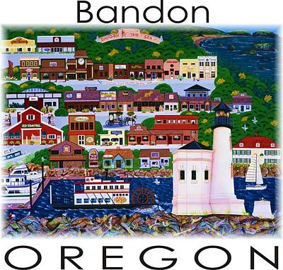 Painting - Bandon By The Sea by Jennifer Lake