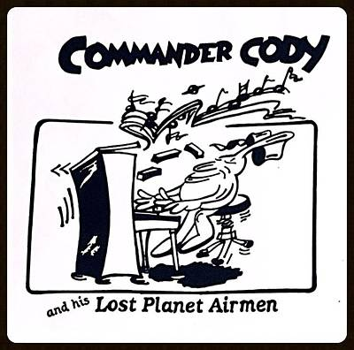 Digital Art - Bangin' On The Keys by Commander  Cody