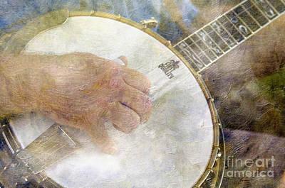 Photograph - Banjo - D002330-a by Daniel Dempster