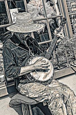 Photograph - Banjo Man by Jim Thompson