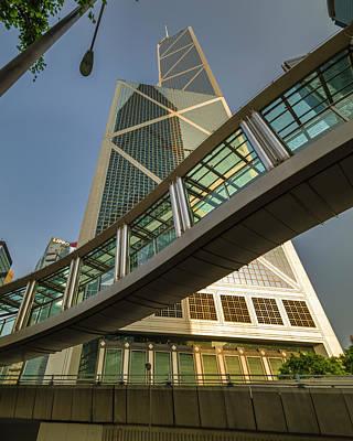 Photograph - Bank Of China Tower Hong Kong by Adam Rainoff