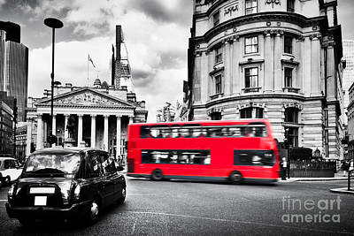 Stock Photograph - Bank Of England, The Royal Exchange In London, The Uk by Michal Bednarek