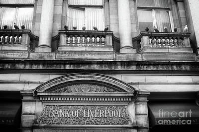 Photograph - Bank Of Liverpool Building - Merseyside - England - Uk by Doc Braham