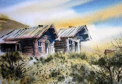 Painting - Bannack Ghost Town Montana by Kevin Heaney