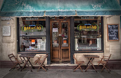 Bar De Cao Buenos Aires Art Print