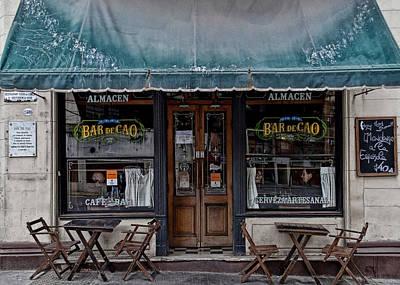 Bar De Cao Art Print by Hans Wolfgang Muller Leg