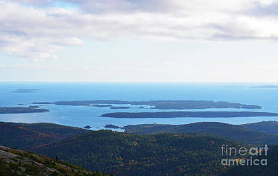 Photograph - Bar Harbor Islands by Patti Whitten