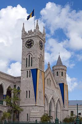 Bridgetown Photograph - Barbados Parliament. by Fernando Barozza