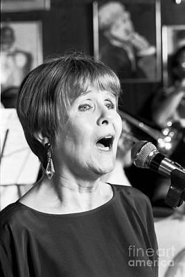 Barbara Lea, Jazz Vocalist Art Print