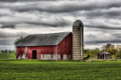 Photograph - Barn 6 by CA  Johnson
