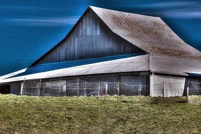 Photograph - Barn C 233 by Jerry Sodorff