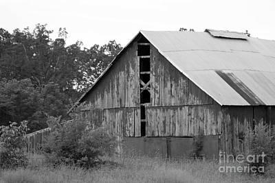 Priska Wettstein Pink Hues - Barn in Kentucky no 70 by Dwight Cook