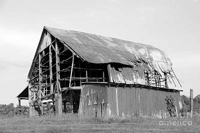 Barn In Kentucky No 75 Art Print