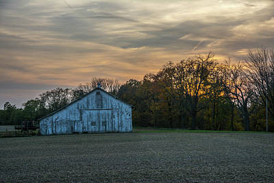 Photograph - Barn On Furnas-oglesby Rd  by Randall Branham