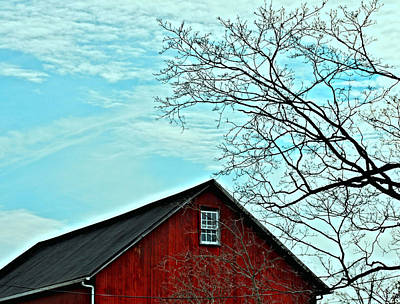 Photograph - Barn Red by JAMART Photography
