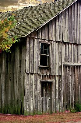 Photograph - Barn Side by Buddy Scott