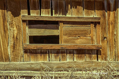 Photograph - Barn Window by R Thomas Berner