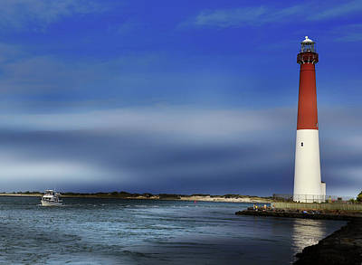 Photograph - Barnegat Lighthouse  by Sami Martin