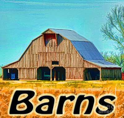 Photograph - Barns Logo by Debbie Portwood
