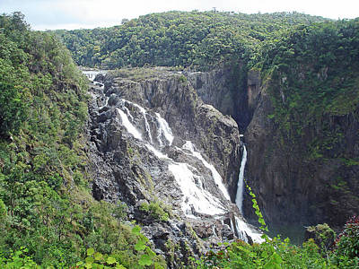 Photograph - Barron Falls by Ellen Henneke