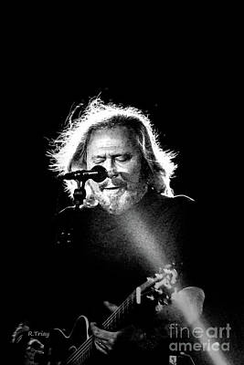 Photograph - Barry Gibb In Concert by Rene Triay Photography