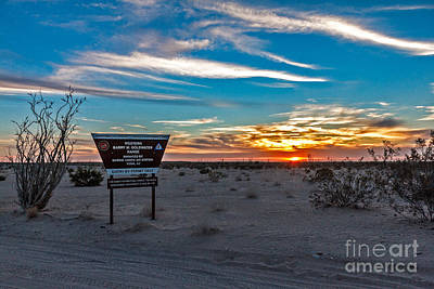 Photograph - Barry Goldwater Range by Robert Bales